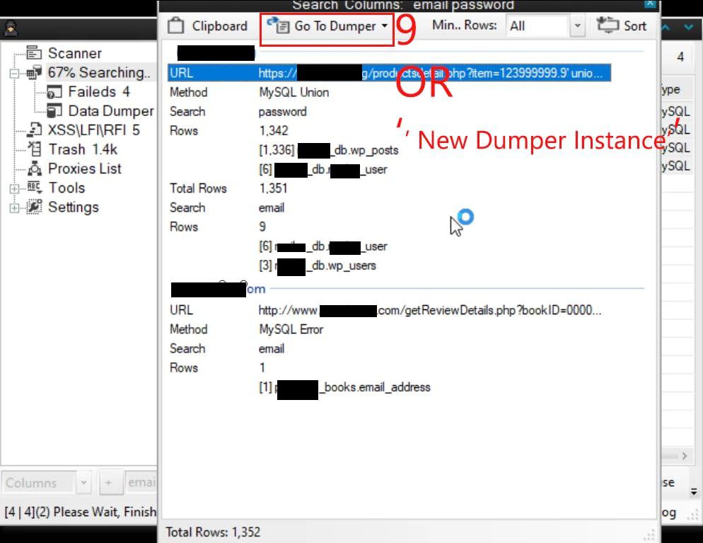 date dumper of sqli dumper